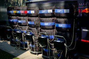 Neumáticos para Max Verstappen, Red Bull Racing