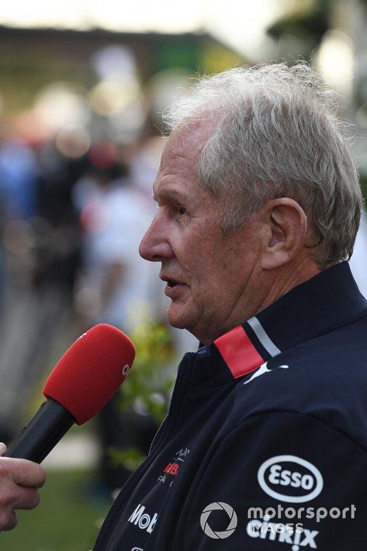 Хельмут Марко, консультант Red Bull Racing