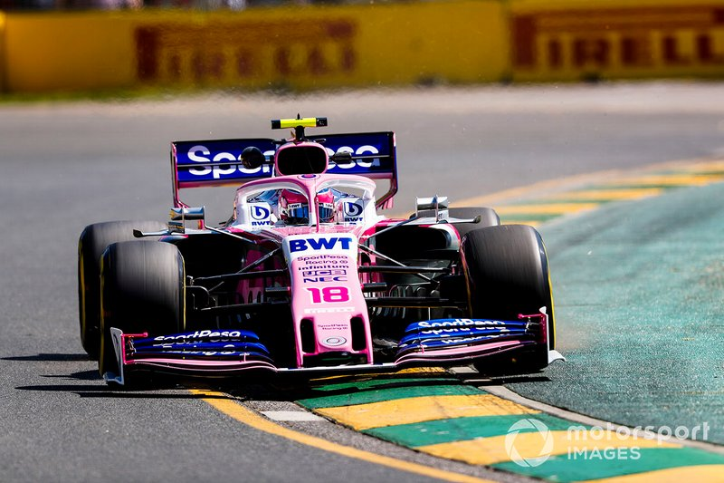 18 місце — Ленс Стролл, Racing Point — 8