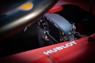 Le volant de la Ferrari SF90
