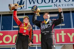Houston Winners Brittany Force, Robert Hight