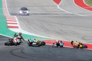 Sturz: Xavi Vierge, Marc VDS Racing, Fabio Di Giannantonio, Speed Up Racing