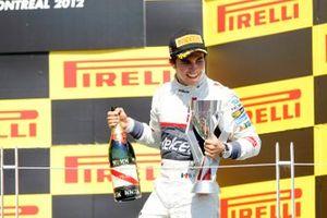 Podio: tercer lugar Sergio Pérez, Sauber F1