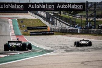 Colton Herta, Harding Steinbrenner Racing Honda, Will Power, Team Penske Chevrolet