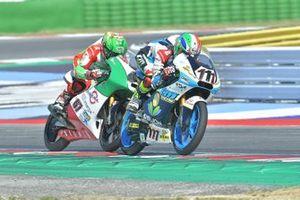 Kevin Zannoni, RGR TM Racing Factory Team e Alberto Surra, Team Minimoto