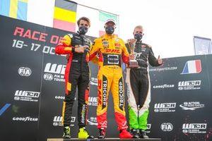 Podium : Gilles Magnus, Comtoyou Team Audi Sport Audi RS 3 LMS, Tom Coronel, Comtoyou DHL Team Audi Sport Audi RS 3 LMS, Bence Boldizs, Zengo Motorsport Drivers' Academy CUPRA Leon Competición