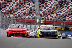 Justin Allgaier, JR Motorsports, Chevrolet Camaro BRANDT and 22: Austin Cindric, Team Penske, Ford Mustang Menards/Richmond