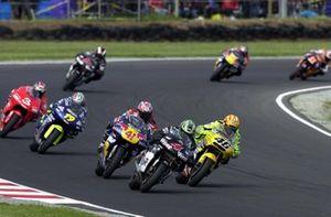 Valentino Rossi, Honda llega a adelantar a Alex Barros, Honda
