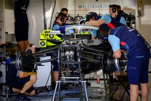 Williams Racing pit
