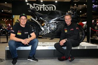 John McGuinness, Stuart Garner, Norton Racing