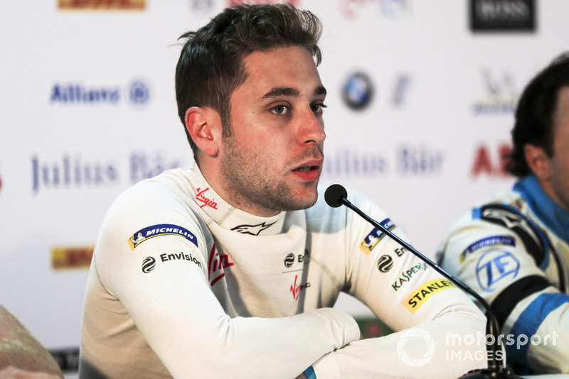Robin Frijns, Envision Virgin Racing, in the press conference