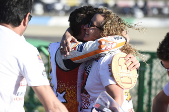 Marc Marquez, Repsol Honda Team, et sa mère