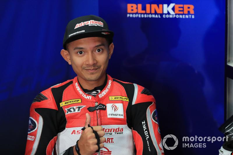 Ekky Pratama, Idemitsu Honda Team Asia