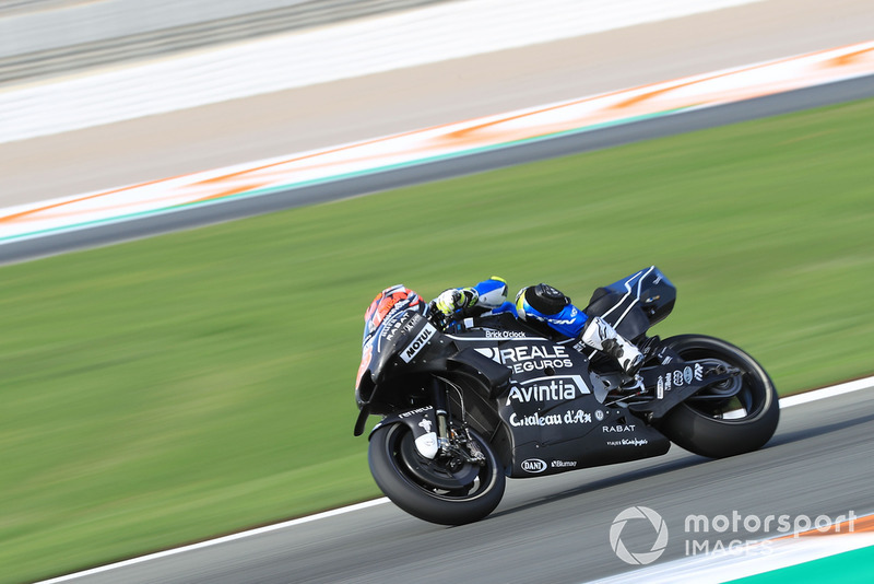Tito Rabat (Avintia Racing) a fait son retour après sa lourde blessure