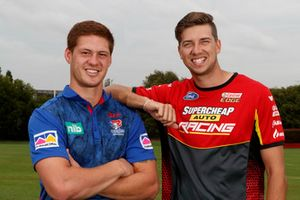 Newcastle Knights Kayln Ponga ve Chaz Mostert, Tickford Racing Ford