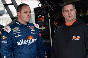 Johnny Sauter, GMS Racing, Chevrolet Silverado ISM Connect and Joe Shear