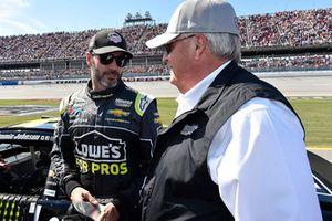 Jimmie Johnson, Hendrick Motorsports, Chevrolet Camaro Lowe's for Pros, Rick Hendrick