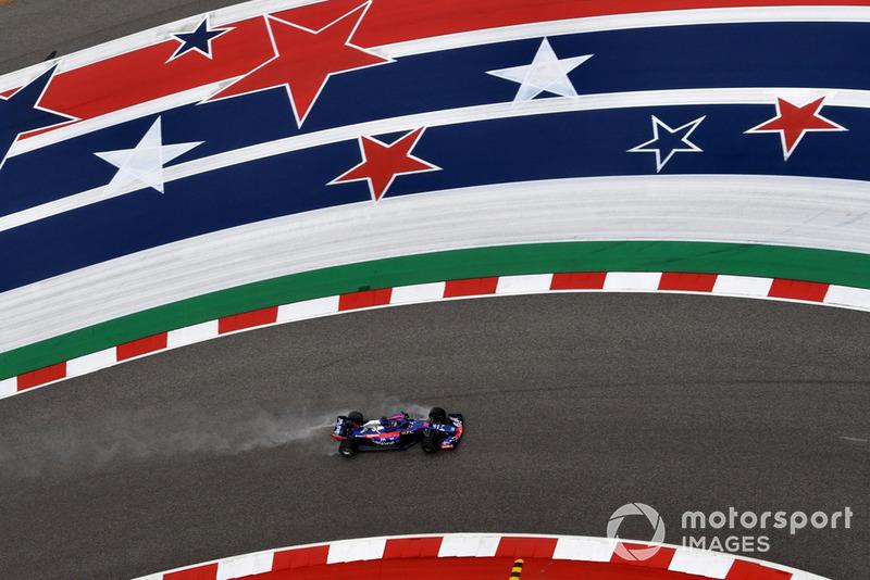 Гонщик Формулы 2 Шон Гелаэль впервые в сезоне сел за руль Toro Rosso