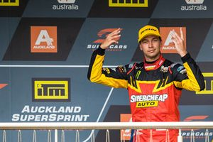 Podium: third place Chaz Mostert, Tickford Racing