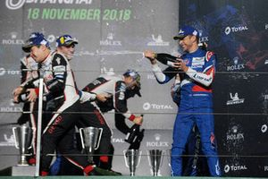 Third place overall Jenson Button, SMP Racing