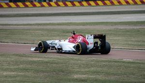 Colombian Racing Driver Tatiana Calderón, Formula 1 Sauber Testing