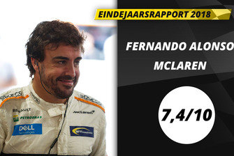 Eindrapport 2018: Fernando Alonso, McLaren