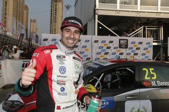 Il vincitore della gara Mehdi Bennani, Sébastien Loeb Racing