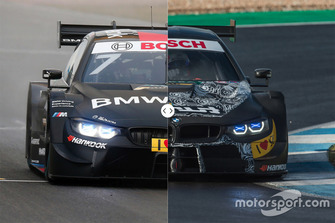 BMW M4 DTM - Old and New DTM Regulations