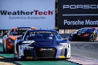 #17 Audi Sport Team WRT Audi R8 LMS: Stuart Leonard, Sheldon van der Linde, Alex Riberas