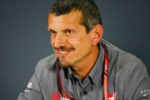 Guenther Steiner, Team Principal, Haas F1, nella conferenza stampa dei team principal