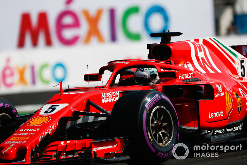 4. Sebastian Vettel, Ferrari