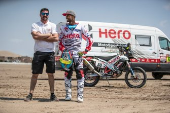 #50 HERO Motorsports Team Rally: CS Santosh