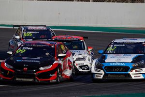 Josh Files, Hell Energy Racing with KCMG Honda Civic Type R TCR, Dusan Borkovic, Target Competition Hyundai i30 N TCR