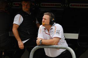 Zak Brown, PDG et directeur exécutif de McLaren Racing