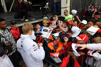 Marcus Ericsson, Sauber met de fans