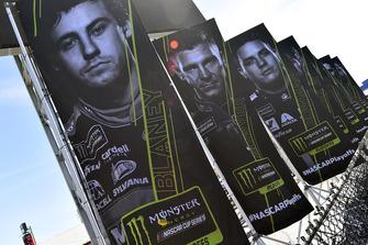 Ryan Blaney, Team Penske, Ford Fusion REV playoff banner