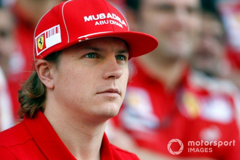 Kimi Raikkonen vor zehn Jahren ...