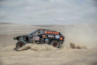 Тим Коронель и Том Коронель, Maxxis DakarTeam, Jefferies Dakar Rally (№347)