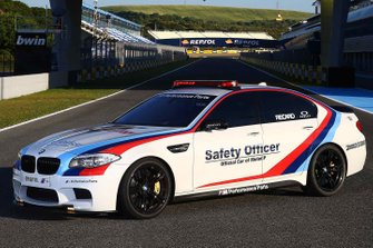 BMW M5 safety officer