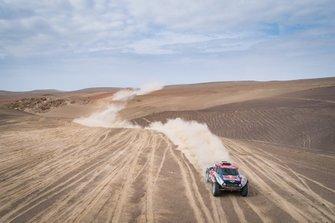 Сириль Депре и Жан-Поль Коттре, X-raid MINI JCW Rally Team, MINI JCW Buggy (№308)