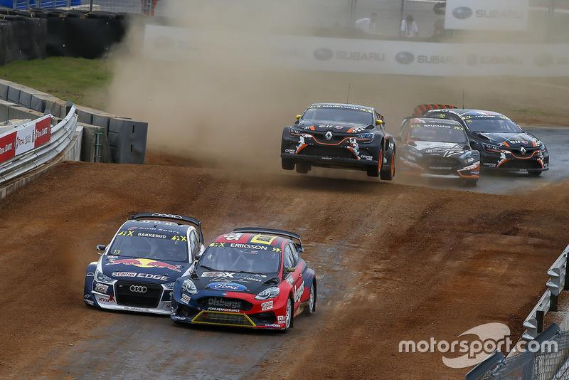 Andreas Bakkerud, EKS Audi Sport, Kevin Eriksson, Olsbergs MSE