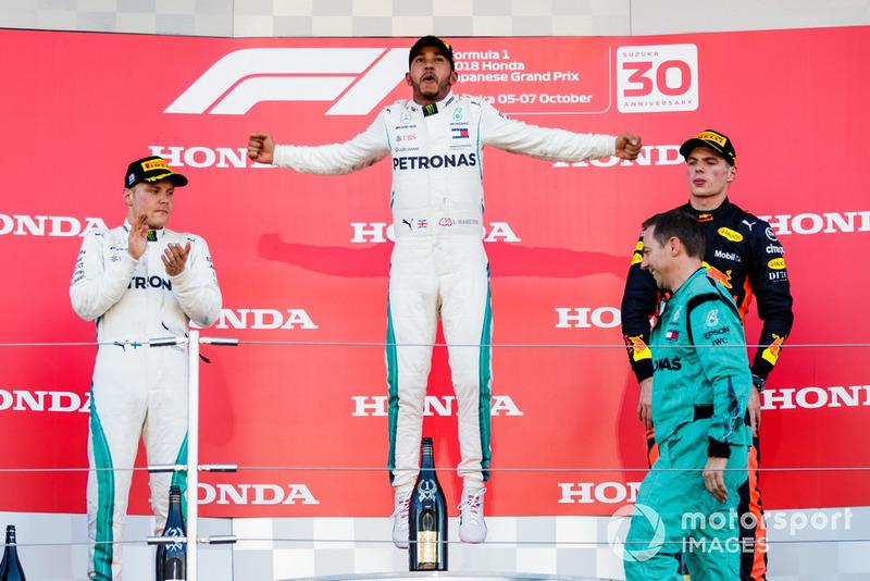 Mas Lewis Hamilton pode igualar o feito do alemão neste ano, já que possui cinco vitórias: 2007, 2014, 2015, 2017 e 2018.
