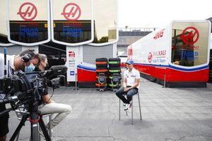 Mick Schumacher, Haas F1 parla ai media