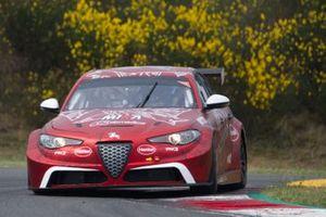 Oliver Webb, Rodrigo Baptista, Romeo Ferraris M1RA, Alfa Romeo Giulia ETCR