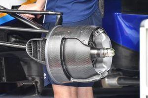Узел крепления переднего колеса Williams FW43B