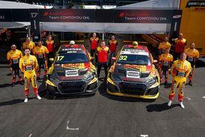 Nathanaël Berthon, Comtoyou DHL Team Audi Sport Audi RS 3 LMS, Tom Coronel, Comtoyou DHL Team Audi Sport Audi RS 3 LMS