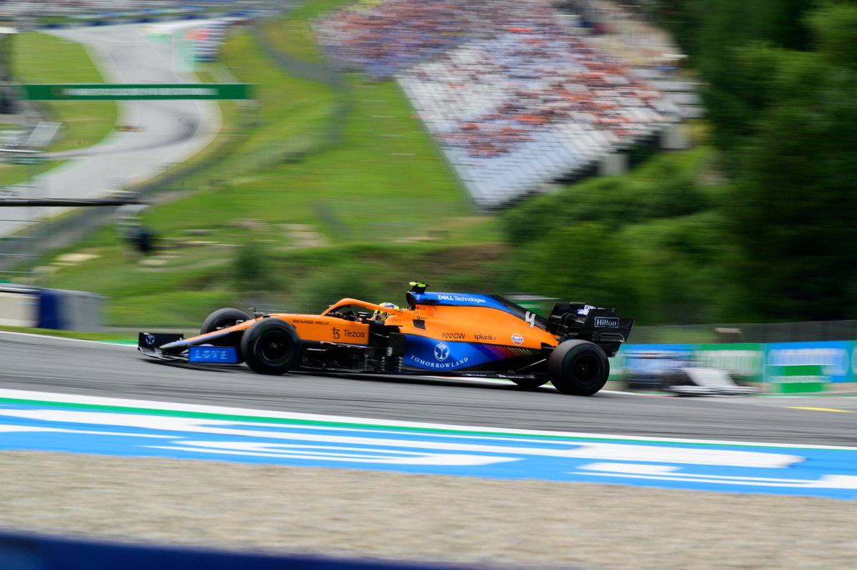 Landor Norris, McLaren MCL35M