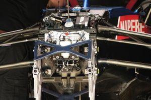 Alpine A521 of Fernando Alonso, front detail