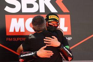 Jonathan Rea, Kawasaki Racing Team WorldSBK avec Pere Riba