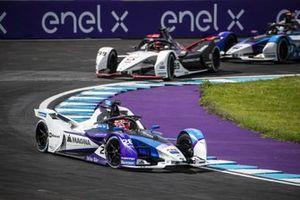 Maximilian Gunther, BMW i Andretti Motorsport, BMW iFE.21, Pascal Wehrlein, Porsche, Porsche 99X Electric